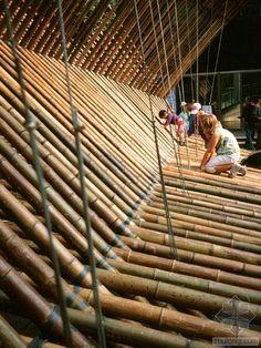 Rocco Design Architects   Bamboo Construction at MOCA   photo.zhulong