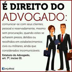 Direito do advogado - comunicar-se com seu cliente