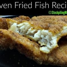 Oven Fried Fish Recipe that tastes just like you have gone to a fish fry! Oven Fried Fish Recipe that tastes just like you have gone to a fish fry! Oven Fried Fish, Baked Fish, Fish Fry, Recipes With Fish And Shrimp, Fried Fish Recipes, Seafood Dishes, Seafood Recipes, Cooking Recipes, Seafood Meals