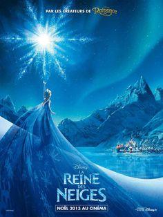 Frozen :: French Poster :: Elsa