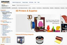 Amazon Rolls Out 3-D Printing Shopping Section