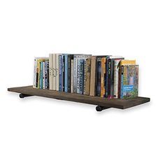 Rustic State Sturdy Construction Reclaimed Wood Floating Wall Shelf by Rustic State 36 Inch with Industrial Style Pipe Brackets Walnut Diy Kitchen Shelves, Floating Shelves Bathroom, Wine Shelves, Plant Shelves, Rustic Shelves, Display Shelves, Corner Shelves, Bathroom Storage, Wall Bookshelves