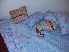 Pillows and blanket minky made by Fascynatory Natalii