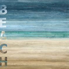 Beach Print by Luke Wilson at AllPosters.com