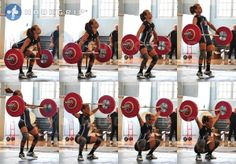 frame-by-frame Snatch.