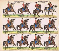 Soldatini di carta j.f.s.i.e. nº 124 Deutsches Heer. Husaren. ca.1905 | Arte y antigüedades, Objetos antiguos y juguetes, Juguetes antiguos | eBay!