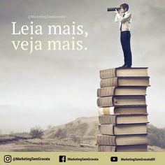 Procure ler! Não necessariamente tudo o que você encontra pela frente.... Busque conteúdos do seu interesse e tenha o hábito da leitura... some conhecimentos e amplie cada vez mais sua visão de mundo!