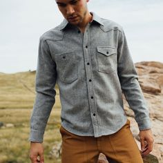 Topo Designs' wool work shirt. Perfect Autumn/Winter wear.