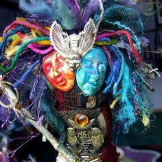 Spirit Art Doll-Mixed Media Assemblage | Flickr - Photo Sharing!