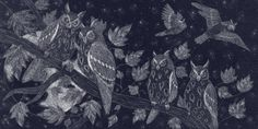 """wordsnquotes: """" culturenlifestyle: Picturesque Prints Of Wildlife Inspired By The English Countryside Catherine Rowe creates beautifully detailed, nature-inspired art. Rowe graduated from the Cambridge School of Art in 2013 and has since transformed..."""