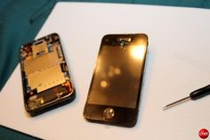 Boy fixes cracked iPhone screen for $21.95 (photos) - CNET Reviews