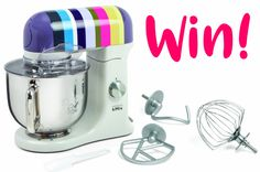 WIN! A beautiful Kenwood K-Mix worth over £300!
