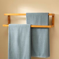 Bathroom towel holder placement