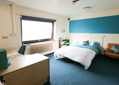 Bright, modern student apartments in Manchester at Chandos Hall Student Apartment, Student House, Student Flats, Manchester City Centre, Apartments, Bright, Bed, Modern, Furniture