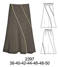 Faldas Clothing Patterns, Dress Patterns, Sewing Patterns, Draped Skirt, Linen Skirt, Skirt Fashion, Diy Fashion, Fashion Outfits, Black And Grey Hair