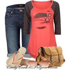 A fashion look from April 2013 featuring red long sleeve shirt, blue shorts and havaianas flip flops. Browse and shop related looks. Short Outfits, Cool Outfits, Casual Outfits, Fashionable Outfits, Teen Fashion, Fashion Outfits, Womens Fashion, Rock Fashion, Fashion Clothes