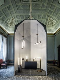 lasvit milan design week 2016 via lucis designboom