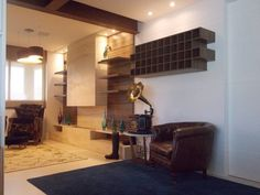Sala de lareira: Salas de estar rústicas por RMS arquitetura e interiores