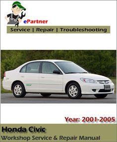 Elegant Download Honda Civic Service Repair Manual 2001 2005