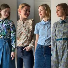 #sarasteshirtdress hashtag on Instagram • Photos and Videos Ruffle Blouse, Photo And Video, Sewing, Long Sleeve, Sleeves, Pattern, Videos, Tops, Modern