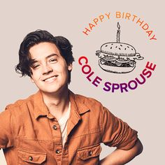 Happy birthday Cole Sprouse! August 4th  gif