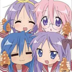 Lucky Star - CHOCOLATE CORNETS! I've never actually had one before but I would use Miyuki's method