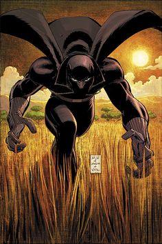 Black Panther by John Romita Jr.