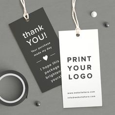 Packaging Ideas Discover Custom Logo Labels Printed logo tag Thank You coupon Product tags Custom Product tags Thank You tag Custom Hang tags business card Business Thank You Cards, Thank You Tags, Cadeau Client, Mode Collage, Custom Hang Tags, Kleidung Design, Clothing Packaging, Bussiness Card, Clothing Tags