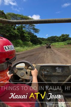 Fun things to do in Kauai Hawaii with family with teens, couples, singles — Drive ATV quads in Kauai Hawaii with Kauai ATV. Kauai Hawaii, Hawaii Travel, Solo Travel, Couple Photography Poses, Friend Photography, Maternity Photography, Family Photography, Teen Driver, Places Worth Visiting