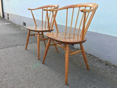 A personal favourite from my Etsy shop https://www.etsy.com/uk/listing/510406774/pair-of-1960s-ercol-windsor-449a-cowhorn