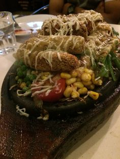 Cheese ball Rice sizzler