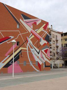 """Sense"" by Elbi Elem in Valencia, Spain | StreetArtNews"