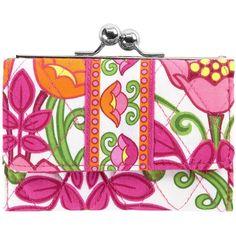66ecb2d40116a Vera Bradley Small Kisslock Wallet ( 32) ❤ liked on Polyvore Vera Bradley