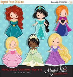 60% de descuento venta princesa traje partido gráfico -2 con lindos personajes instantánea descargar princesa gráficos.