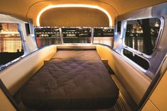 This amazing Airstream Land Yacht trailer features DuPont Corian surfaces, certified for recycled content by SCS.