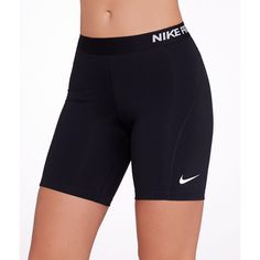 Nike Pro Cool 7'' Shorts ($35) ❤ liked on Polyvore featuring activewear, activewear shorts, daywear, women, nike activewear, athletic sportswear, nike and nike sportswear