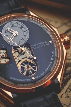 vividessentials: The Chronométrie Ferdinand Berthoud FB1 | vividessentials - designer mens watches on sale, shop mens watches online, mens watches best brands #BestMensWatches