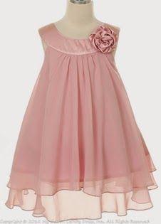Vestido Niña de las Flores, Rosa