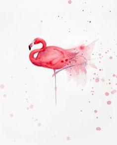 Фламинго, тропических птиц, экзотических птиц, Фламинго искусства