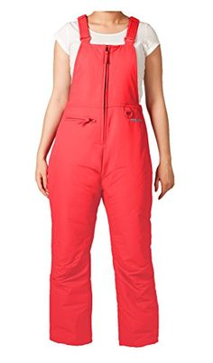 Arctix Insulated Youth Snow Bib Overalls Melon Medium *** Be sure to check out this awesome product.