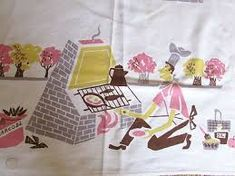 barbecue vintage tablecloth - Google Search Bar B Q, Vintage Tablecloths, Barbecue, Google Search, Vintage Table Linens, Barrel Smoker, Bbq, Barbacoa