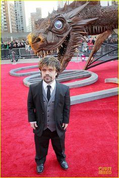 Peter Dinklage Premiere 'Game of Thrones' Season 4!