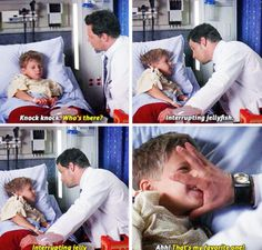 I love how Alex is all gruff and who cares with adults but with kids he's such a sweetheart