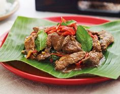 Beef with Red Chili Paste