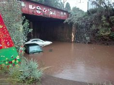 The SA weather service said about of rain has fallen in Pretoria in the past 24 hours, leaving most parts of the metro, flooded.