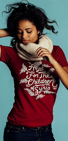 Each purchase here can help provide a hungry child in Syria with food for a week! ► http://www.sevenly.org/?cid=ShrPinterestSaveTheChildren