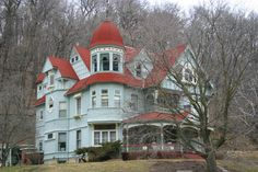Just a old victorian house in small, historic, and senic McGregor Iowa