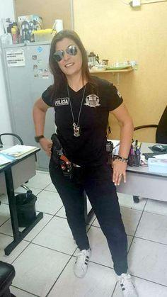 Agente Rosa - Polícia Civil de São Paulo, Brasil.
