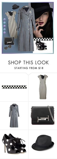 """Checkered Past"" by michelletheaflack ❤ liked on Polyvore featuring Victoria Beckham, Preen, Tod's, Dolce&Gabbana, Paille, Christian Dior, Spring and styleinsider"