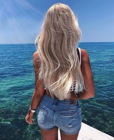 Wer will auch wieder and Meer ? #hairgoals #followback #colors #F4F